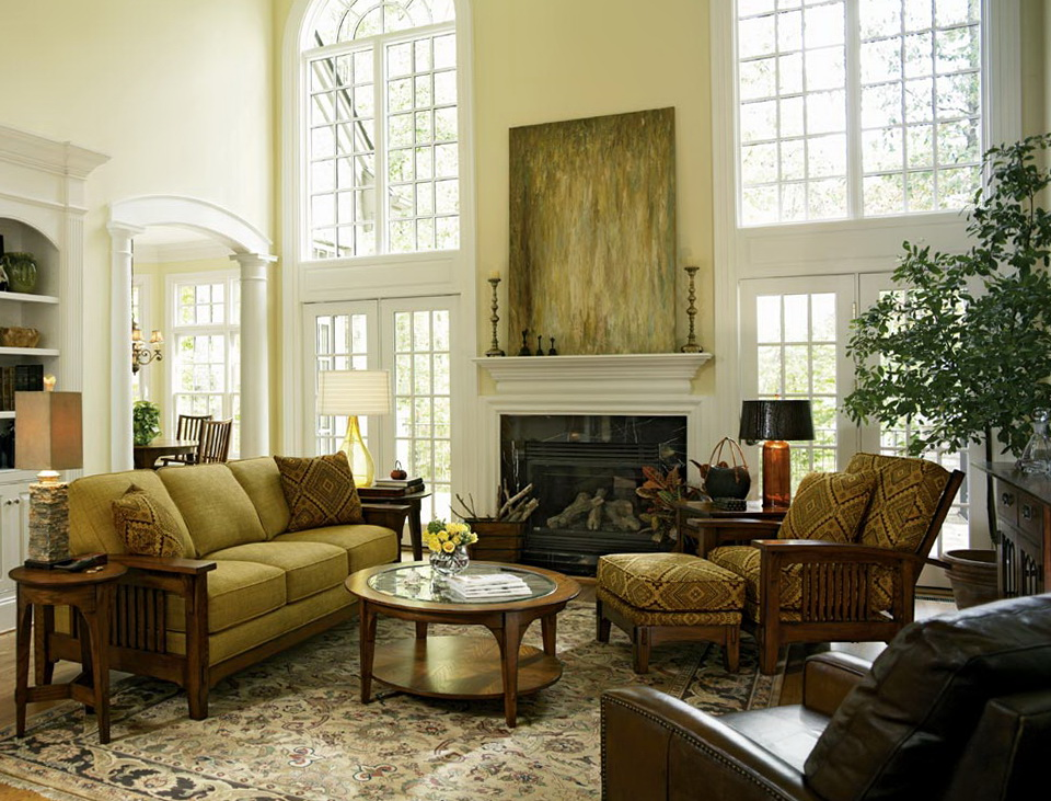 Traditional Living Rooms Designs