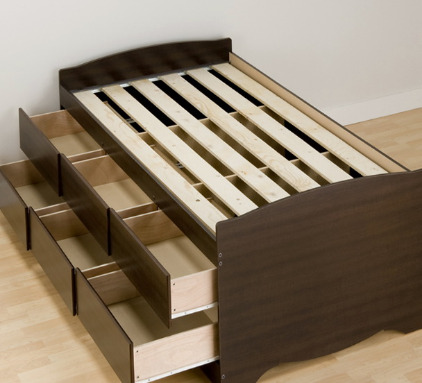 Twin Bed Frames With Storage1