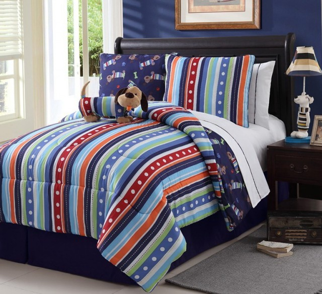 Twin Bed In A Bag For Boys