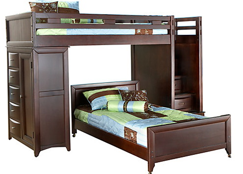 Twin Bunk Beds With Steps