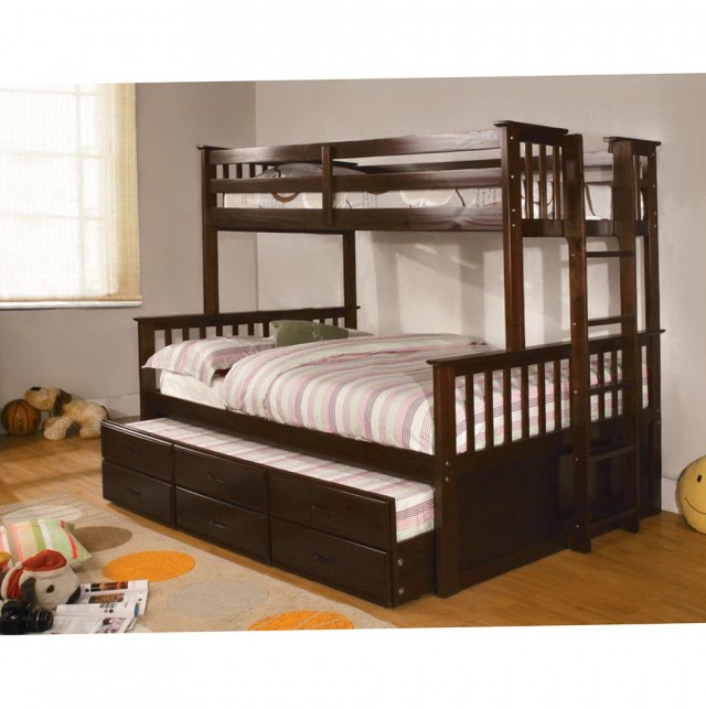 Twin Bunk Beds With Trundle