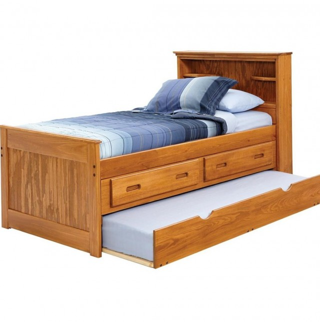 Twin Captains Bed With Storage