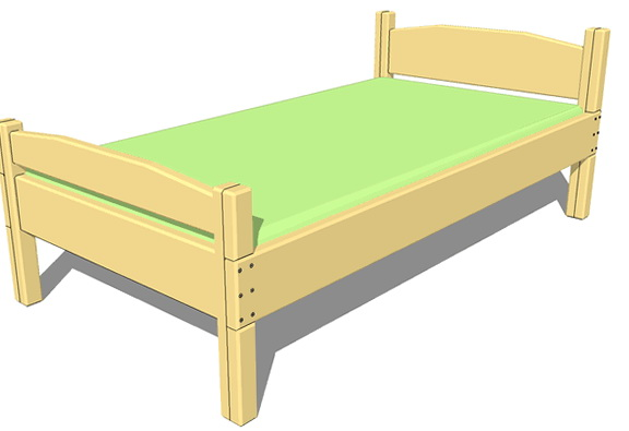 Twin Size Bed Frame Plans