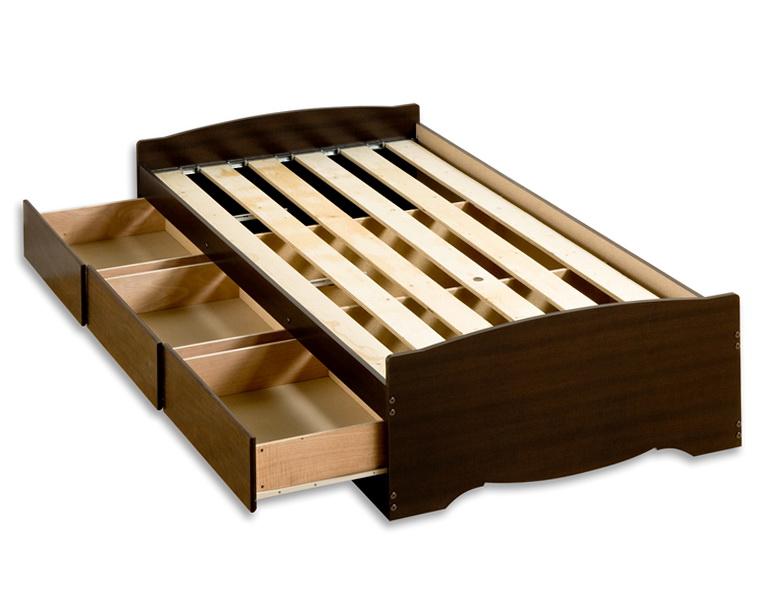 Twin Storage Bed Frame