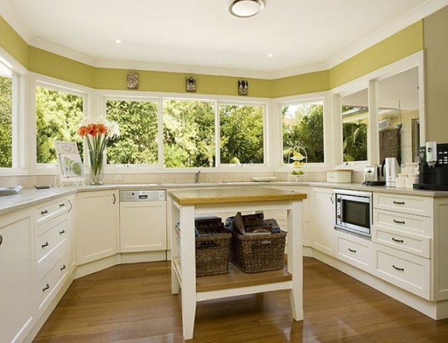 U Shaped Kitchen Designs