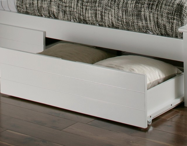 Under Bed Drawers White