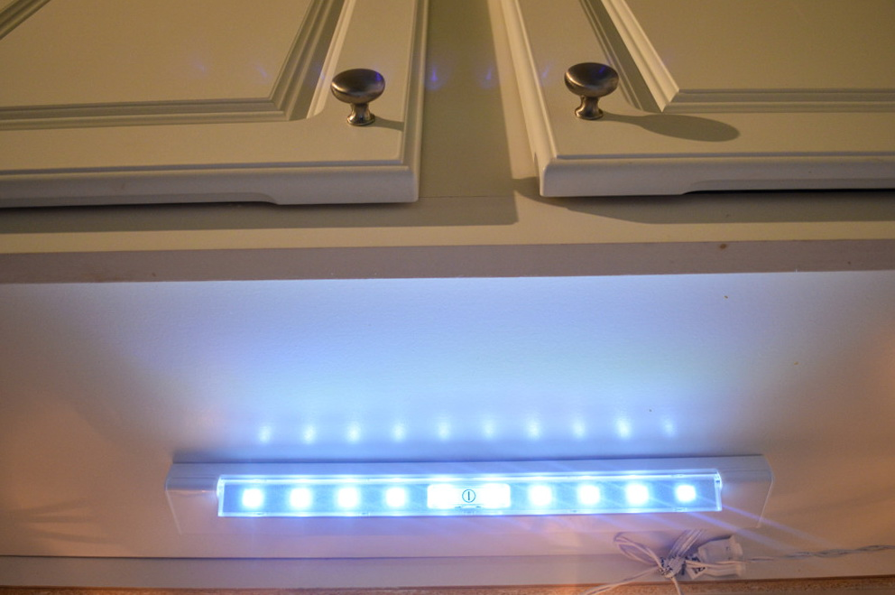 Under Cabinet Led Lighting Battery