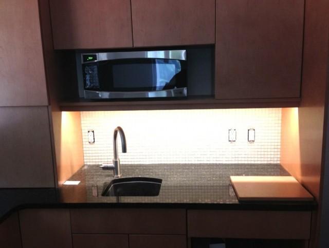 Under Cabinet Microwave Shelf