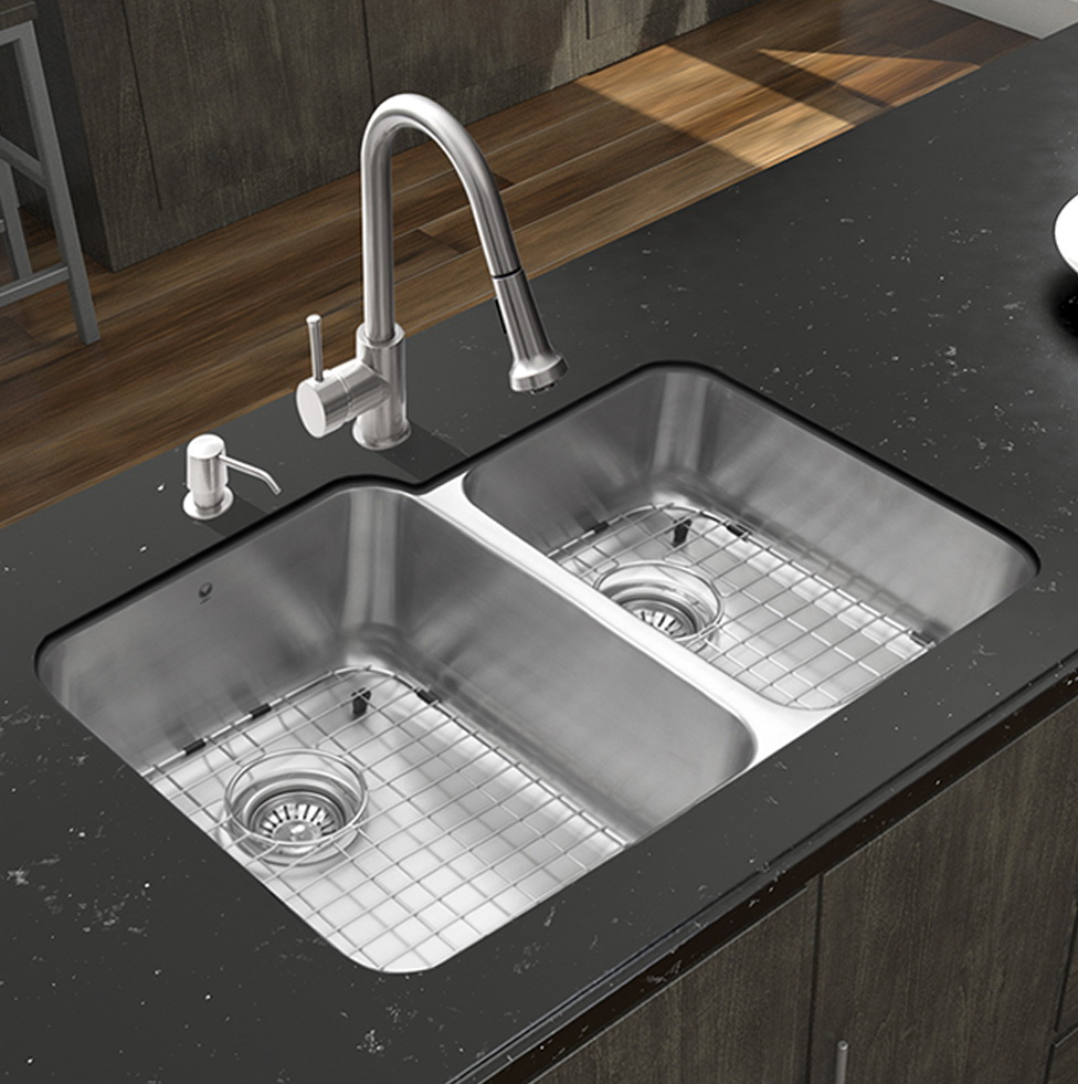 Undermount Kitchen Sinks And Faucets