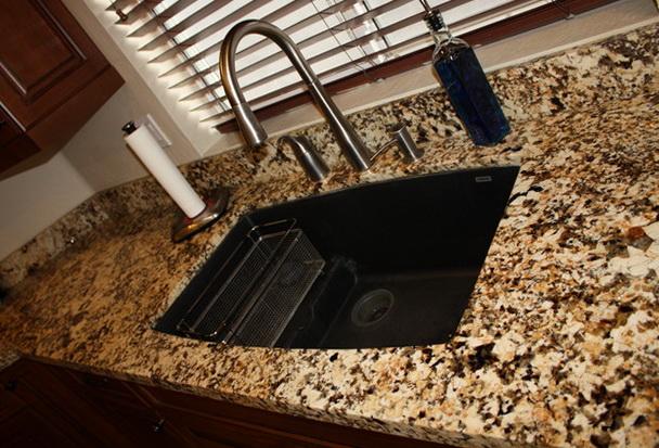 Undermount Kitchen Sinks Granite Countertop