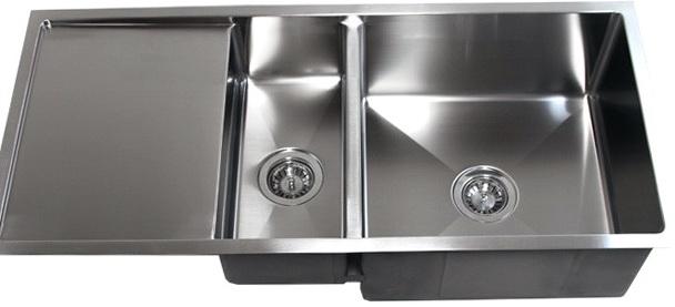 Undermount Kitchen Sinks With Drainer