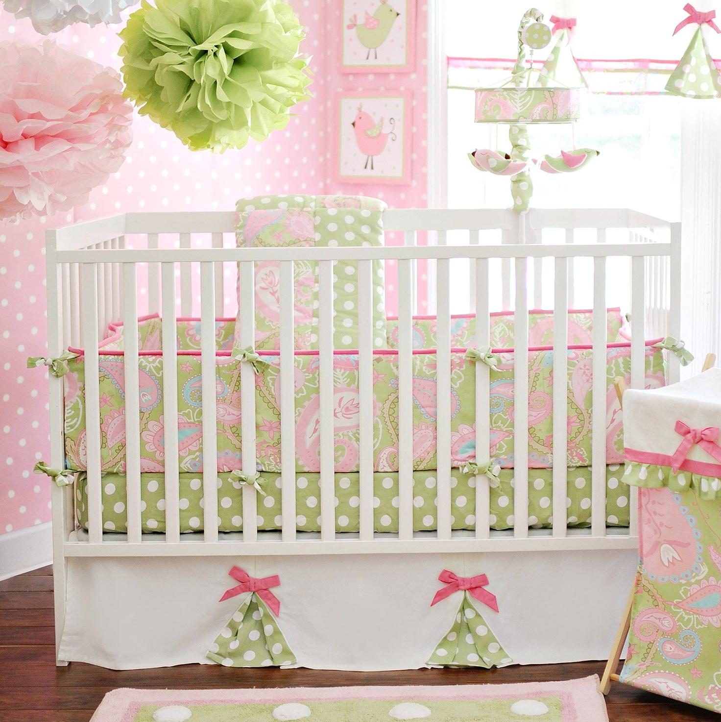 Unique Girl Crib Bedding Sets