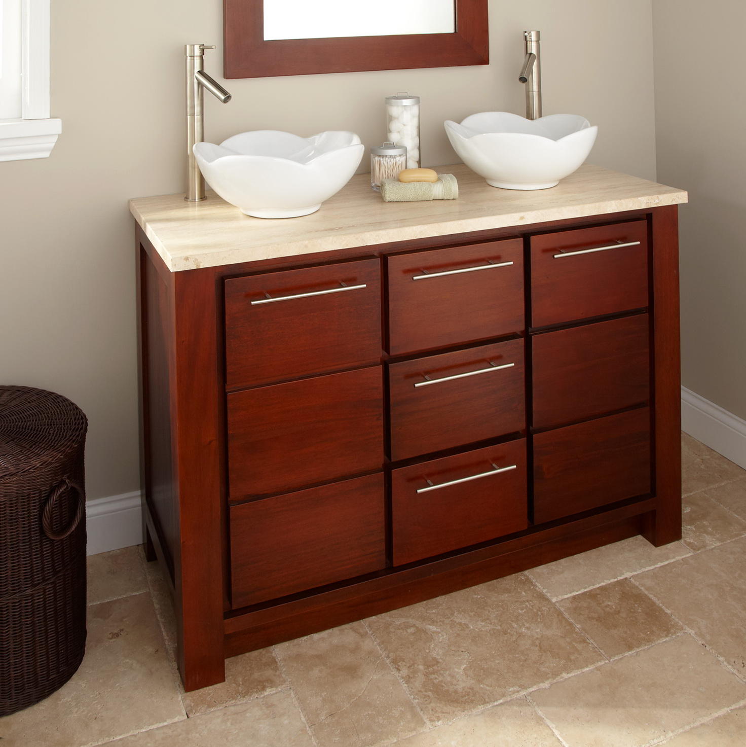Unique Rustic Bathroom Vanities