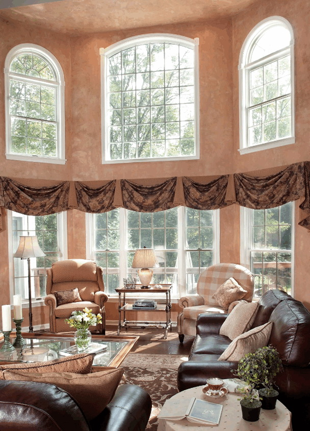 Valances For Living Room Window