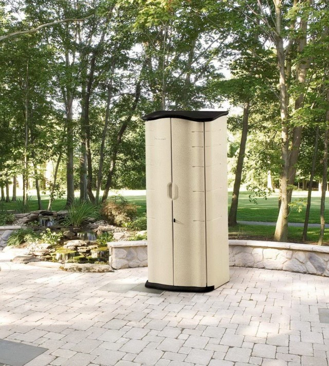 Vertical Outdoor Storage Cabinet