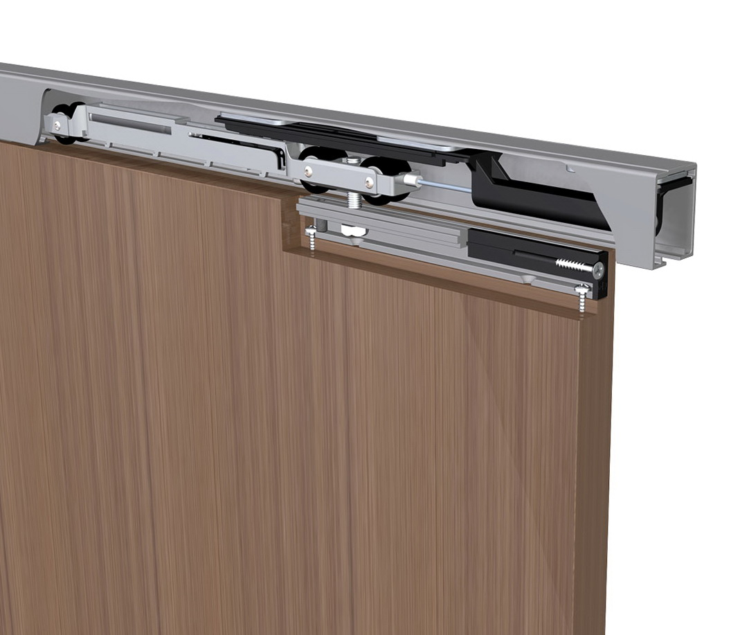Vertical Sliding Cabinet Door Hardware