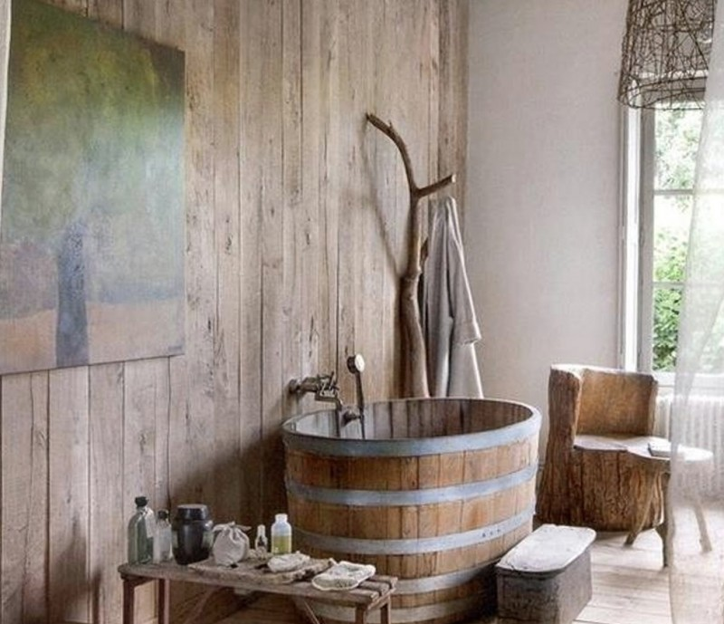Vintage Rustic Bathroom Ideas