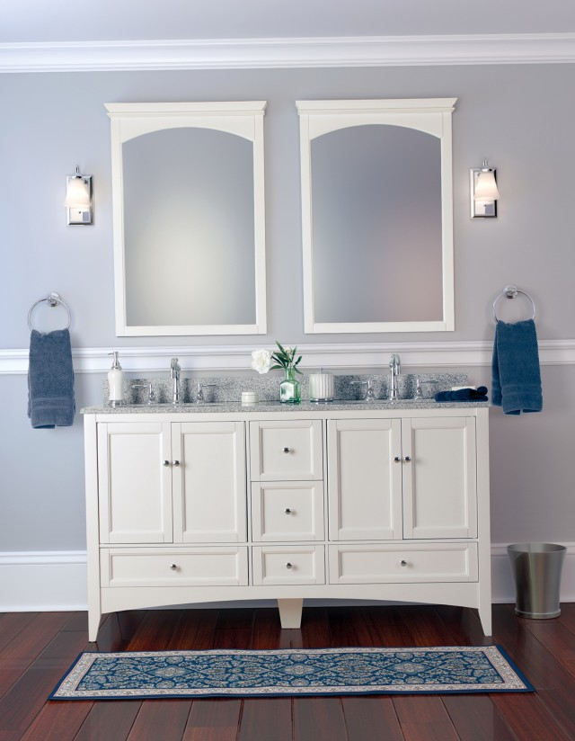 White Bathroom Vanities Canada