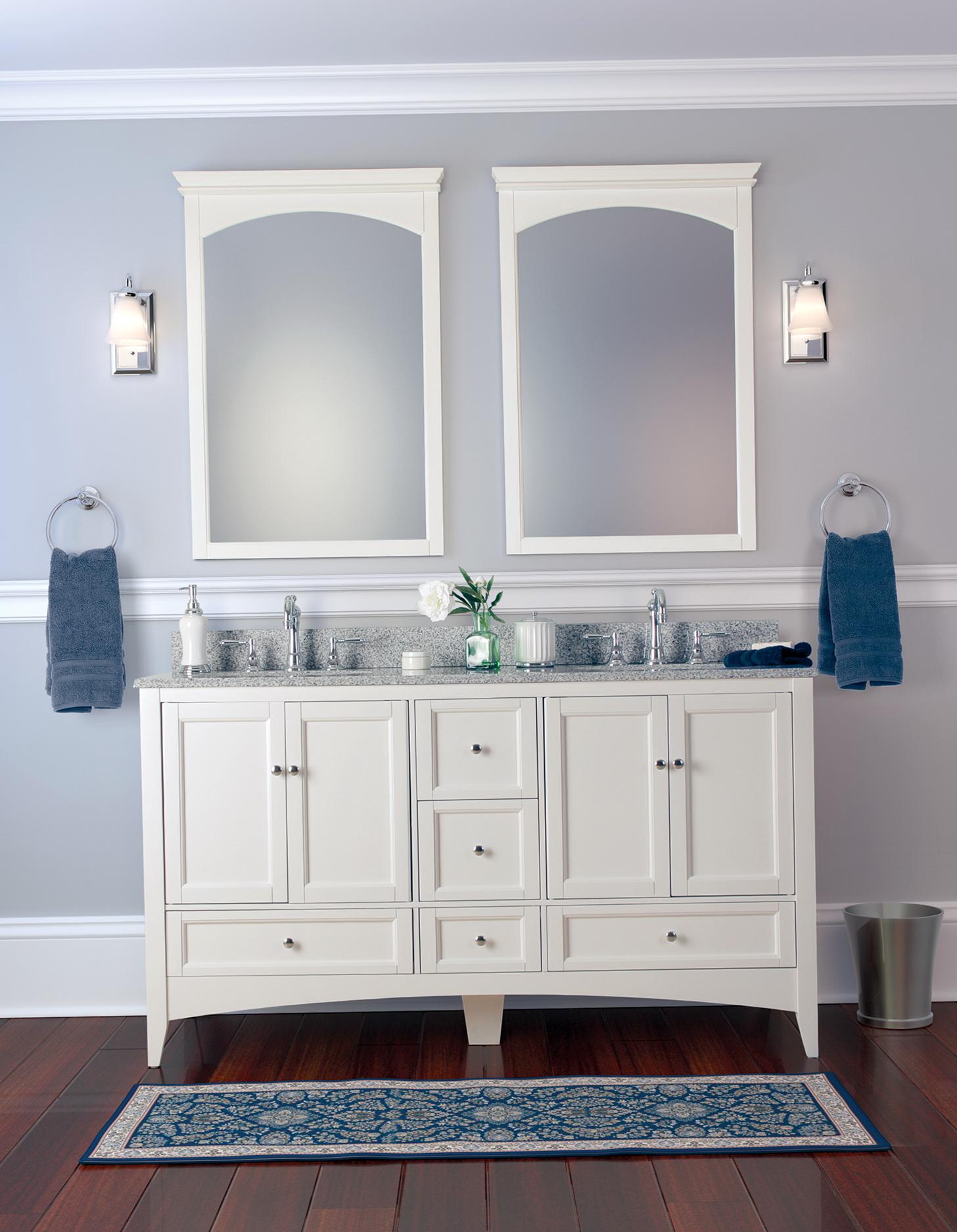 White Bathroom Vanities Canada