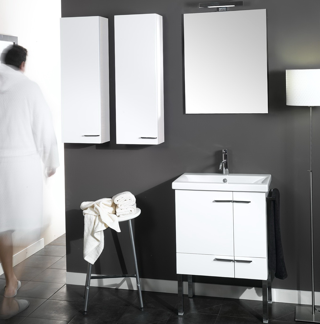 White Bathroom Vanities Ideas
