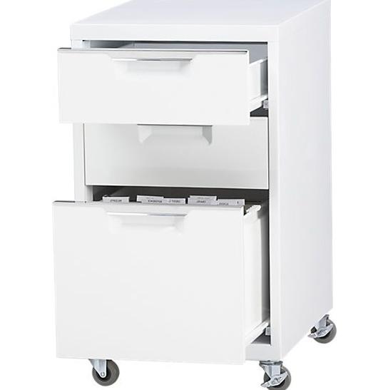 White File Cabinets $99