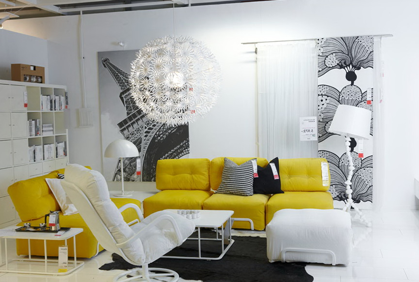 White Living Room Furniture Ikea