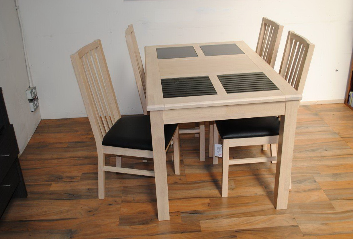 White Oak Kitchen Table