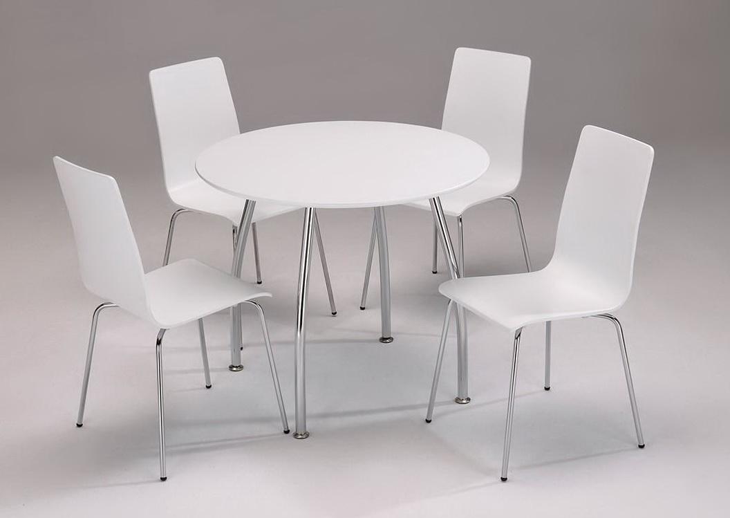 White Round Kitchen Tables
