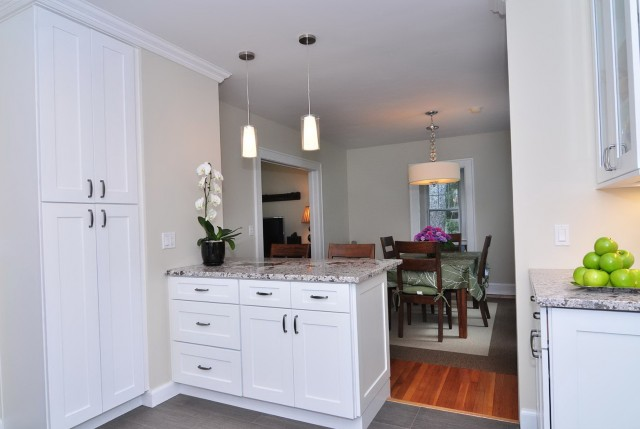 White Shaker Cabinets Kitchen
