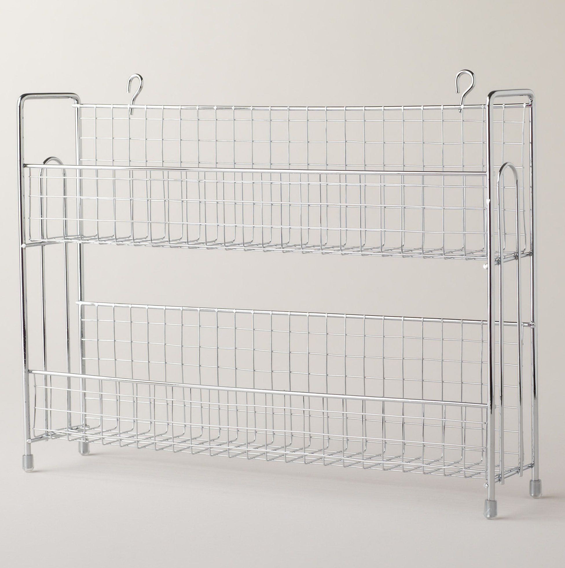 Wire Spice Racks For Cabinets