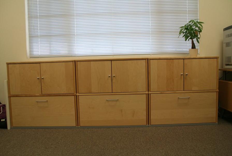 Wood File Cabinet Ikea