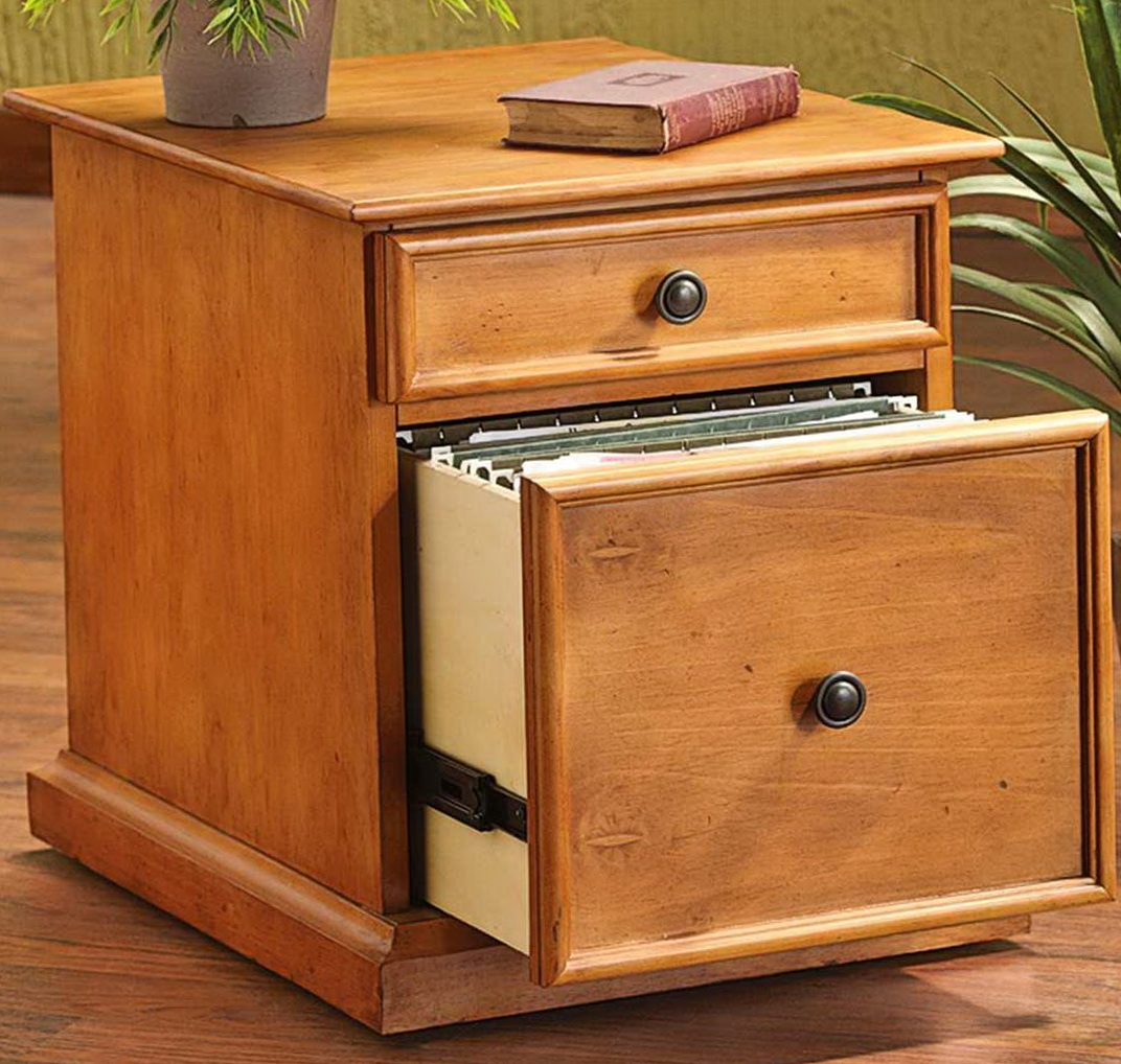 Wood File Cabinet Plans