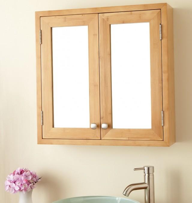 Wood Recessed Medicine Cabinets
