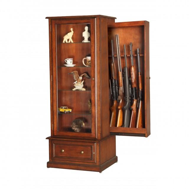 Wooden Gun Cabinet Dimensions
