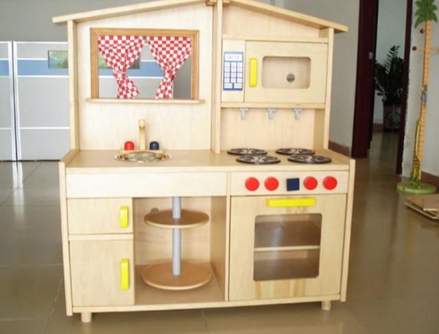 Wooden Kids Kitchen Sets