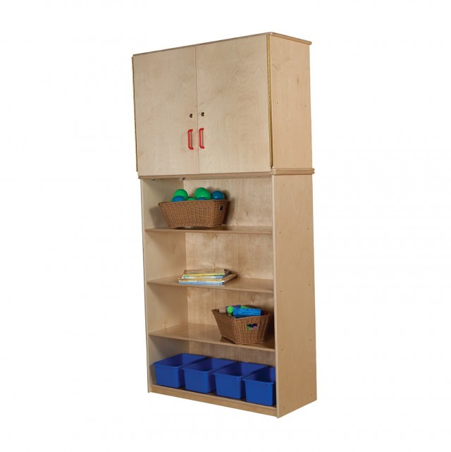 Wooden Outdoor Storage Cabinet