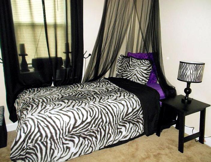 Zebra Bedroom Decor For Sale1